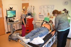 Remote Nursing Station Mechanical CPR Support