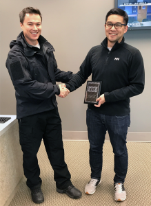 ERT Award given to DEM residency program